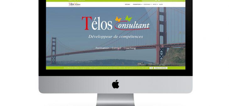 Le site Télos Consultant fait peau neuve